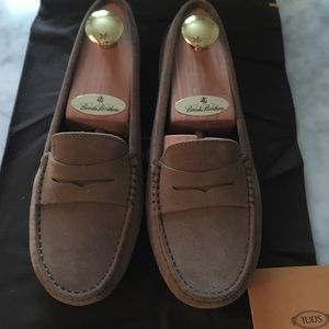 TODS Gommini Brown Moccasin Driving Loafers 36.5